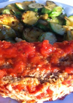 Yummy Italian meatloaf that's even great cold!