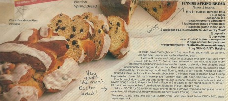 I found this recipe in an ad for Fleischmann's yeast years ago and love it!  But now that I've found mom's, I'm using hers.