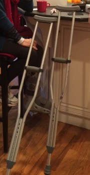 Patty's Crutches