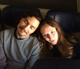 Milena and Andy on plane.cropped JPG.JPG