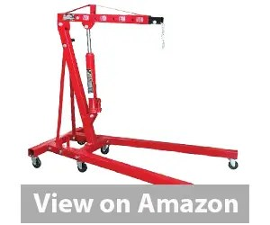 Dragway Tools 2 Ton Folding Hydraulic Engine Hoist Cherry Picker Review
