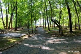 River tent sites