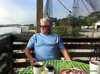 Breakfast at The Pesky Pelican in Eastpoint, FL