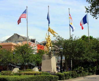St. Joan of Arc statue in the French Market
