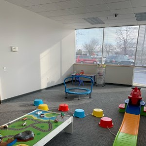 Social play area at ATG Center-Based ABA Therapy