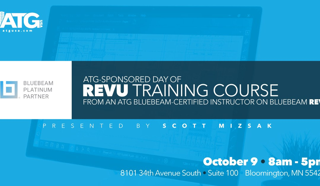 Join ATG for a Minnesota Bluebeam Training Day on October 9
