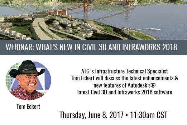 Webinar: What's New in Civil 3D and InfraWorks 2018