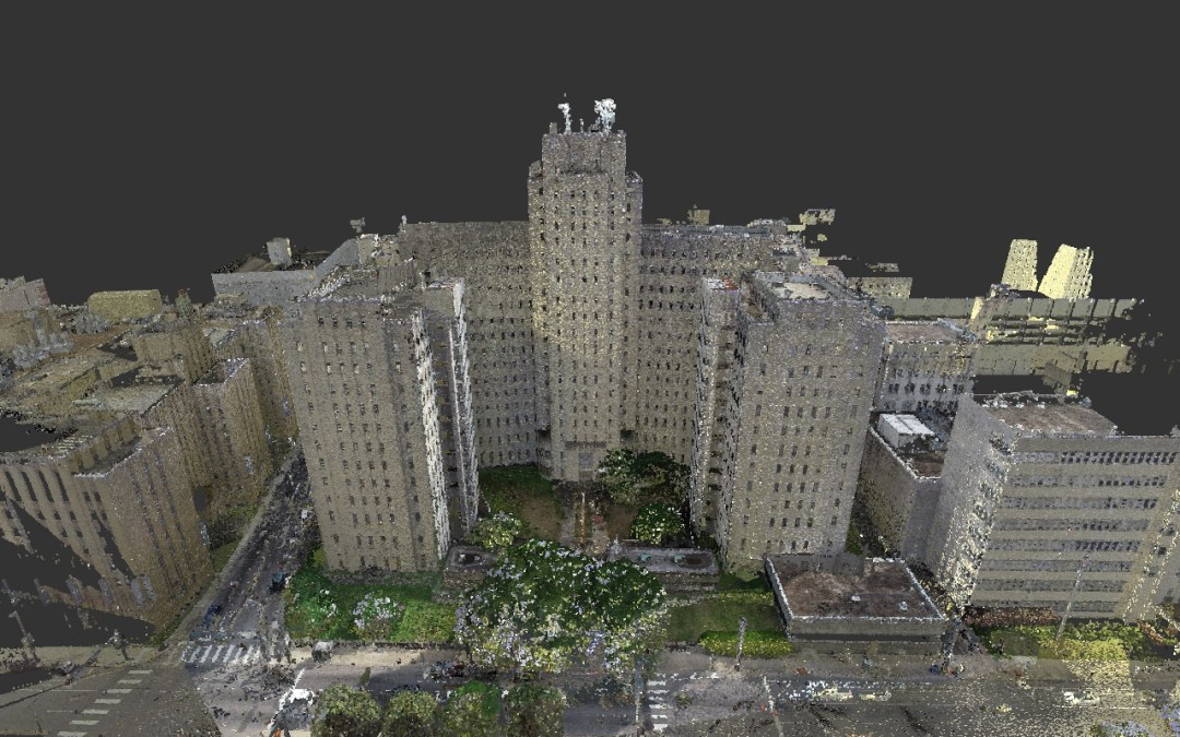 ATG Laser Scanning Charity Hospital in New Orleans Update