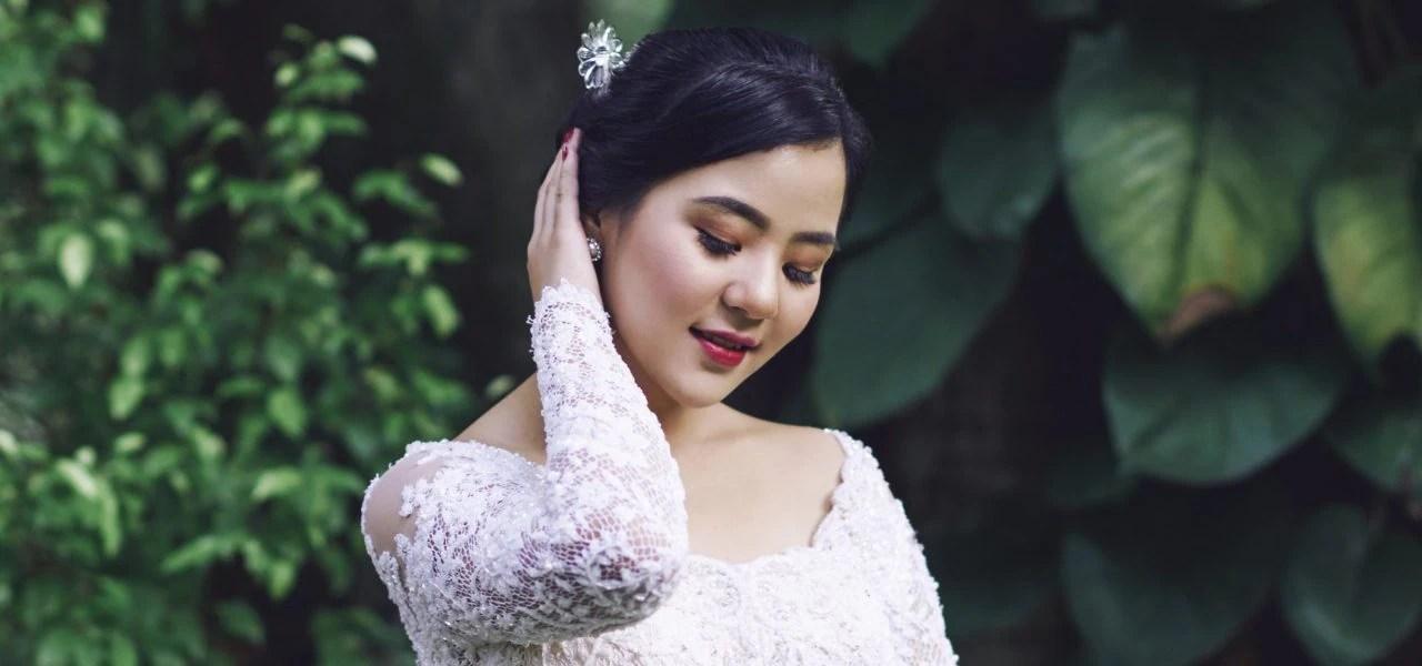Tutorial Sanggul Pengantin Untuk Wajah Bulat All Things Hair Indonesia
