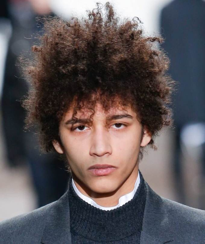 curly hair men- our fave styles & how to work them for your face shape
