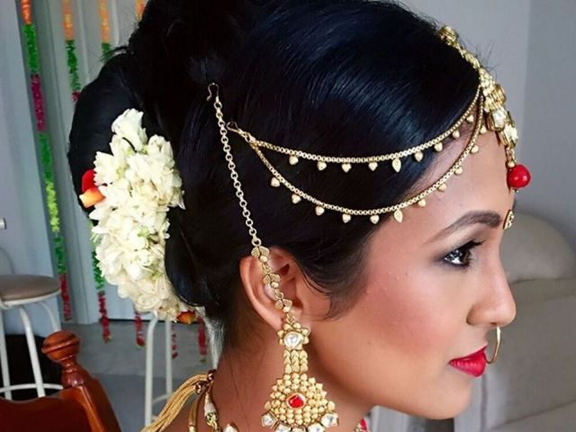 this season's best indian wedding hairstyles from instagram