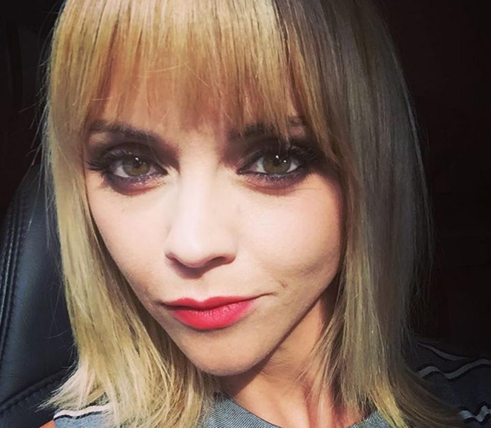 Christina Ricci Debuts Short Hair With A Side Fringe All