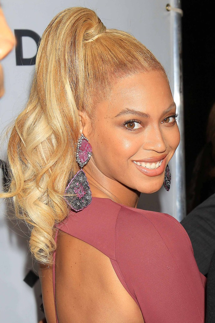 Lovely Beyonce Ponytail Hairstyles Hairstyle Ideas