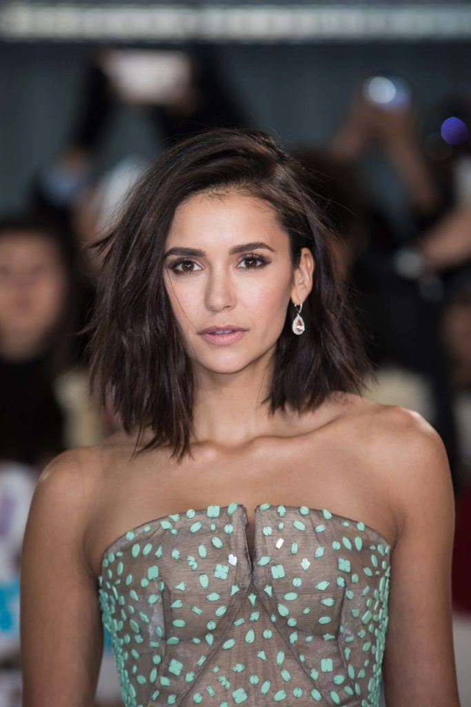 Nina Dobrev Cut Her Hair Into A Lob And Were Low Key Obsessed