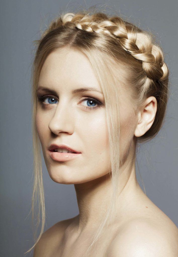 Crown Hair The Romantic Braided Hairstyle Thats Born For