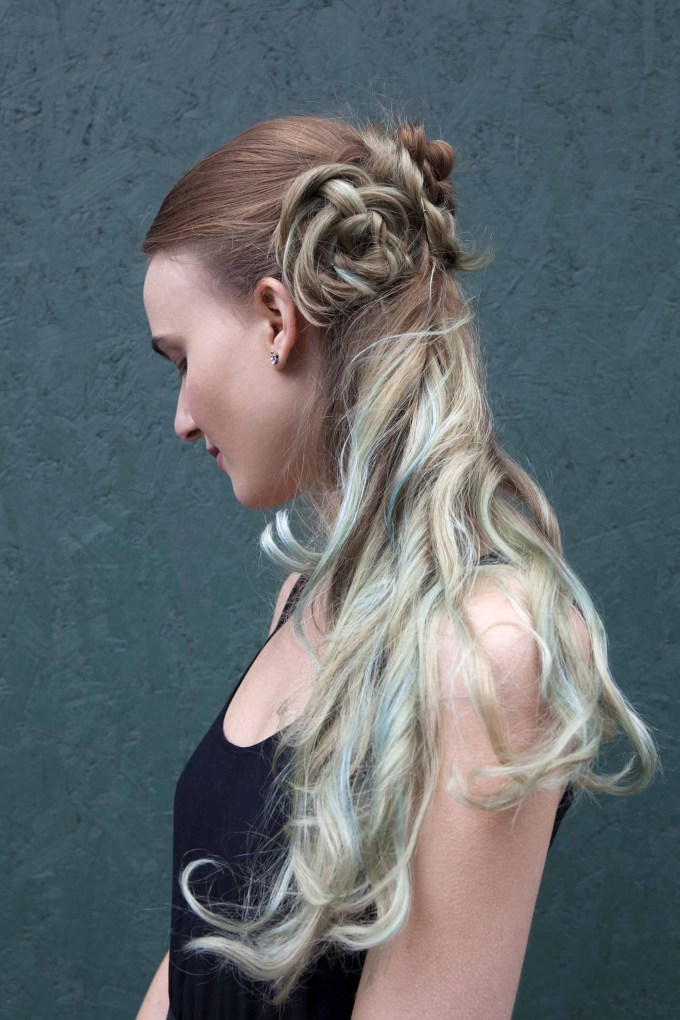 40+ half braided hairstyles you can master in minutes