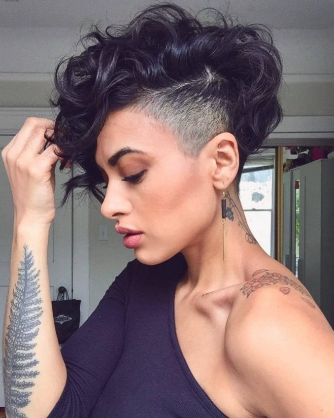 25 bold and beautiful shaved hairstyles for women   all