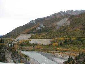 Nenana River bridge near Denali