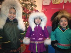 Parkas made by Eleanor Yatlin 2012
