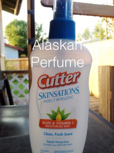 Cutter insect repellent - aka Alaskan perfume. Photo by Angela Gonzalez