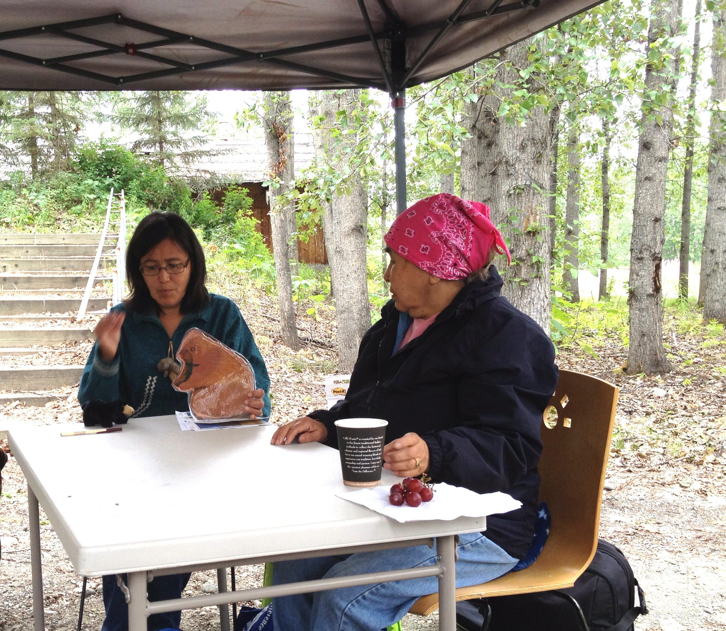 Learning Denaakk E Koyukon Athabascan Athabascan Woman Blog