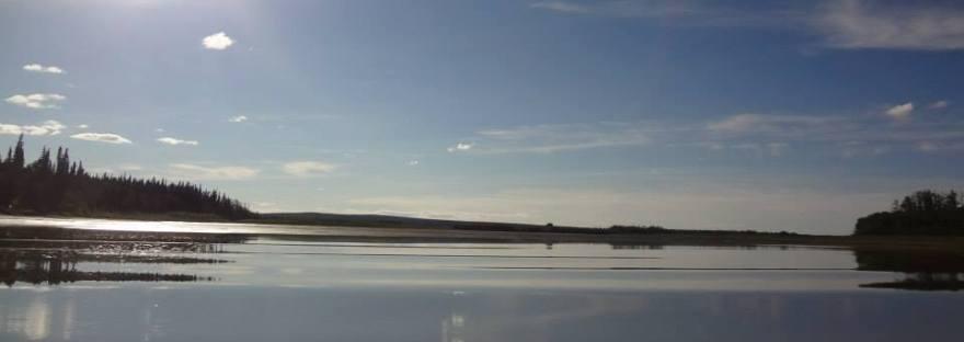 Koyukuk River by Eleanor Yatlin