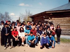Denakkanaaga youth in Huslia in 1992