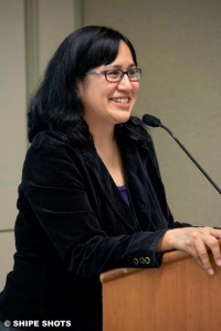 Angela Gonzalez at the 2015 Alaska Communicators Exchange. Photo by Shipe Shots