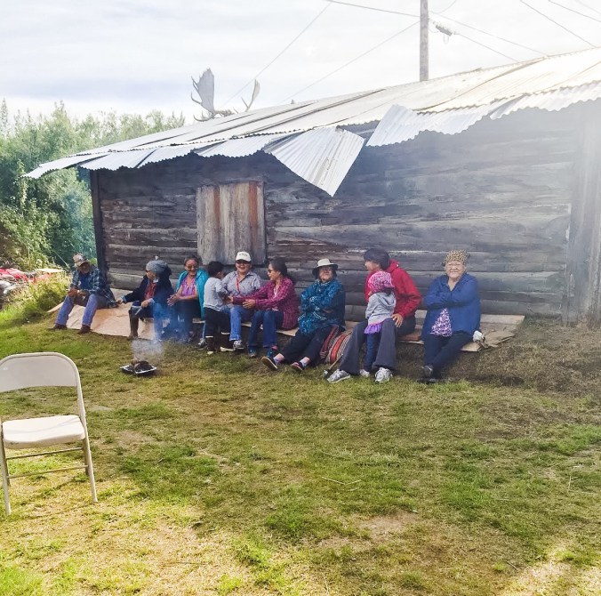 The Native Village of Koyukuk held a welcome home celebration for Mary St. Martin-Charles in the summer of 2015. Courtesy photo