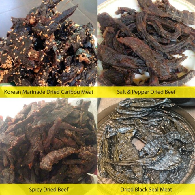 A variety of dried meats prepared by Anna Sattler. Courtesy photos