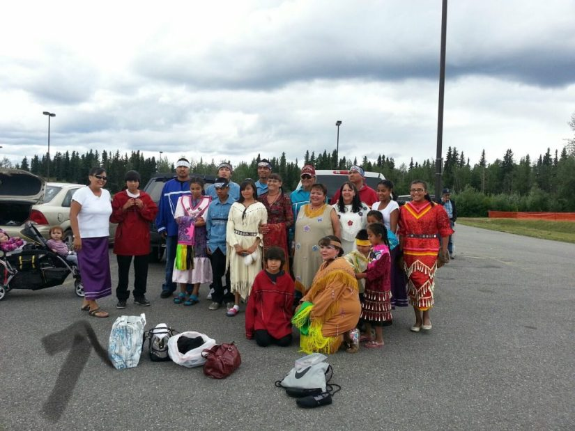 Lakota Naming Gathering. Photo courtesy of Alberta John