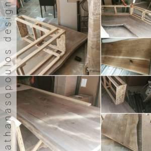 Ξύλινες χειροποίητες κατασκευές και έπιπλα για κάθε γούστο και χώρο!