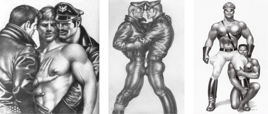 Ζωγραφιές του Tom of Finland