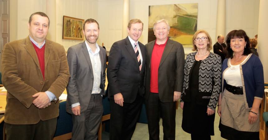 Atheist Ireland delegation with Taoiseach and Minister for Education