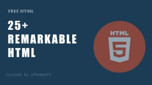 25+ Remarkable HTML free website templates download