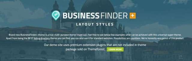 service finder theme