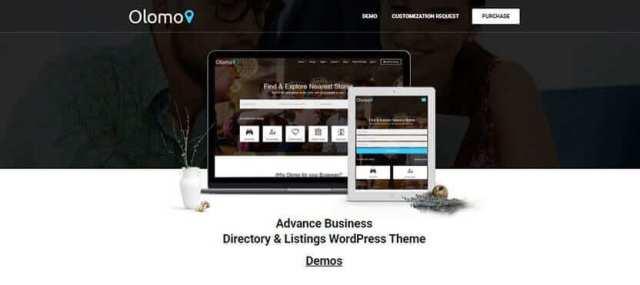 WordPress Service Finder themes