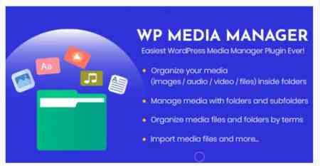 wordpress media manager plugin