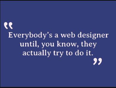 web development quote