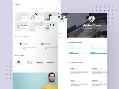 Arzot – CV / Resume / vCard Free HTML Template