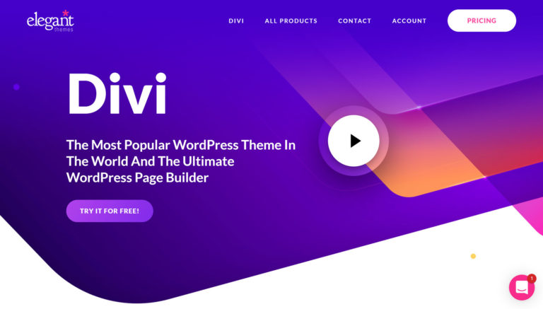Divi -A Powerful Multipurpose WordPress Professional Template