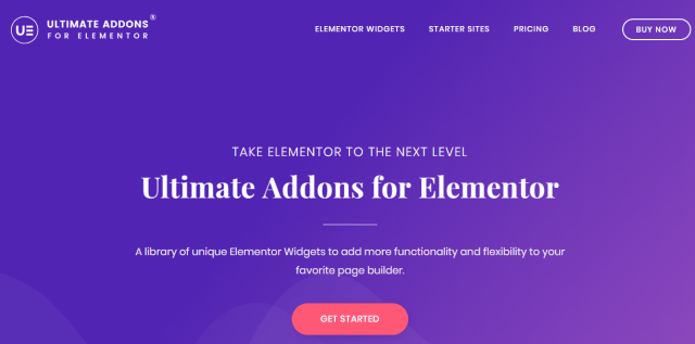 ultimate add-ons for elementor