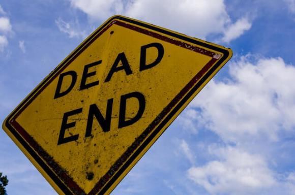 Hitting a dead end