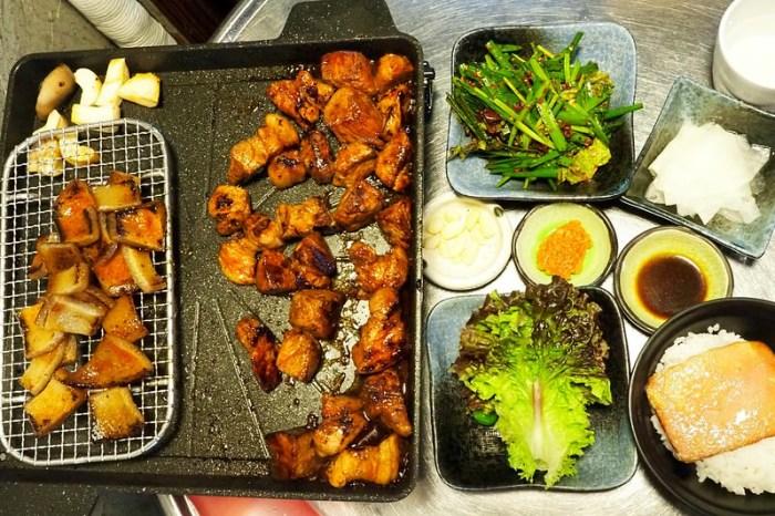 韓國釜山 ▌西面站烤肉餐廳推薦 고정.[점]醬烤豬肉豬皮 專人烤好《加小菲專欄》