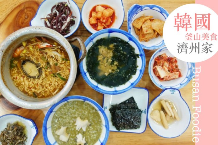 韓國釜山 ▌西面站:濟州家 제주가서면점 營養的鮑魚粥和海膽湯專賣 最推鮑魚拉麵 #釜山早餐推薦