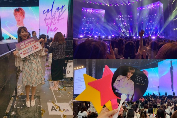 [影音] 一日迷妹!I 姜丹尼爾|Kang Daniel Color On Me Taipei Fan Meeting 2019 ♥ 강다니엘 |Athena娜娜 ft 顆顆