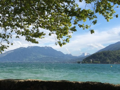Lake Annecy, France. Source: Courtenay Verret