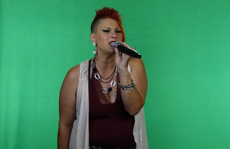 Athena Athena video Shoot