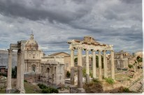 hdr rome forum 2