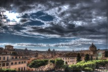 hdr rome overlook